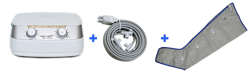 Power Q-1000 Plus nyirokmaszázs mandzsetta gép 1lab